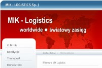 MIK - LOGISTICS Sp. J - Transport i spedycja